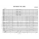 Between The Lines - Big Band - Study Score